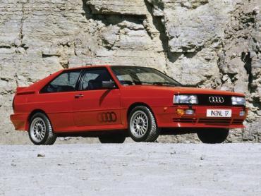 Audi Quattro I Рестайлинг Купе