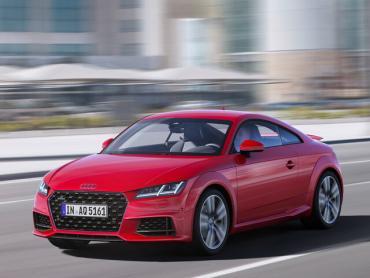 Audi TT III (8s) рестайлинг Купе