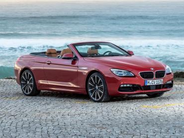 BMW 6 серия f12, f13, f06 Рестайлинг Кабриолет