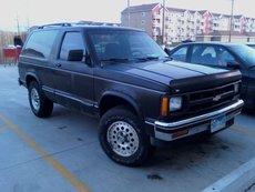 Chevrolet Blazer I Рестайлинг Внедорожник 3дв.