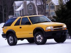 Chevrolet Blazer II Рестайлинг Внедорожник 3дв.
