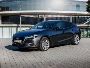 Mazda 3 bm Рестайлинг Седан