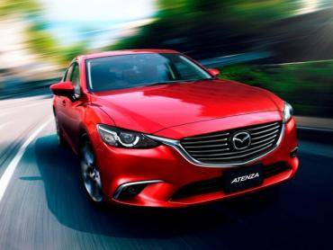 Mazda Atenza III Рестайлинг Седан