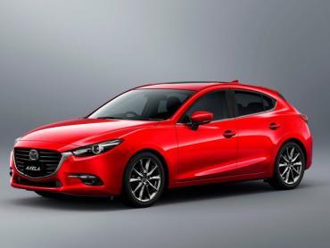 Mazda Axela bm Рестайлинг Хэтчбек 5 дв.