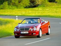 Mercedes-Benz CLK-klasse I (W208) Рестайлинг Кабриолет