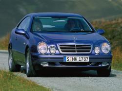 Mercedes-Benz CLK-klasse I (W208) Рестайлинг Купе