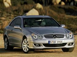Mercedes-Benz CLK-klasse II (W209) Рестайлинг Купе