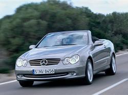 Mercedes-Benz CLK-klasse II (W209) Кабриолет
