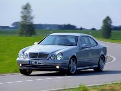Mercedes-Benz CLK-klasse AMG I (W208) Рестайлинг Купе