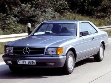 Mercedes-Benz S-klasse w126 Рестайлинг Купе