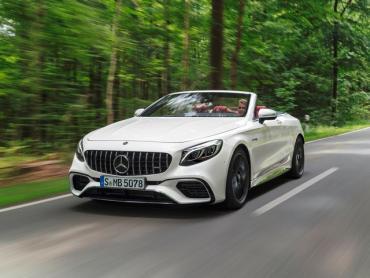 Mercedes-Benz S-klasse AMG w222 Рестайлинг Кабриолет