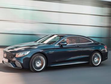 Mercedes-Benz S-klasse AMG w222 Рестайлинг Купе