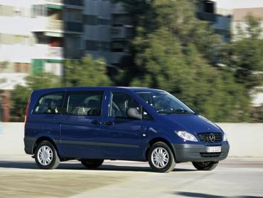 Mercedes-Benz Vito w639 Минивэн L1