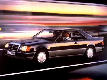 Mercedes-Benz W124 1984 1993 Купе-хардтоп