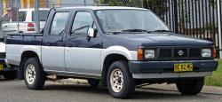 Nissan Navara (Frontier) I (D21)