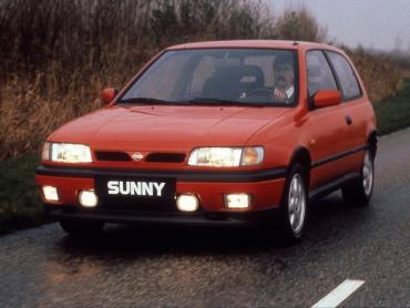 Nissan Sunny n14 Хэтчбек 3 дв.