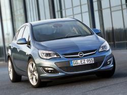 Opel Astra J Рестайлинг Хэтчбек 5дв.