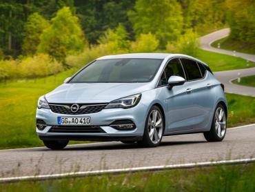 Opel Astra k рестайлинг Хэтчбек 5 дв.