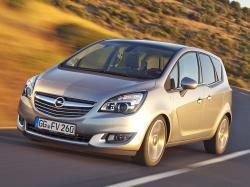 Opel Meriva B Рестайлинг