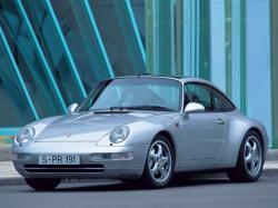 Porsche 911IV (993) Тарга