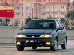 Renault 19II (Europa) Хэтчбек 5дв.
