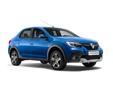 Renault Logan II рестайлинг Седан Stepway