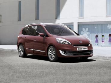 Renault Scenic III рестайлинг Компактвэн Grand