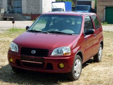 Suzuki Ignis I (ht) Хэтчбек 3 дв.
