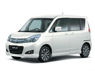Suzuki Solio II Рестайлинг Микровэн