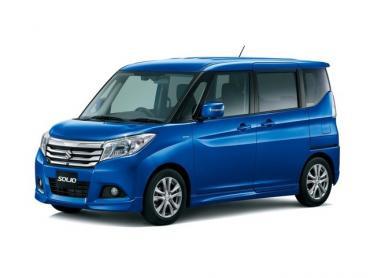 Suzuki Solio III Микровэн