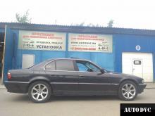 BMW 7er увеличение клиренса