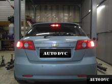 Установка проставок для увеличения клиренса на Chevrolet Lachetti.