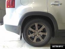 Chevrolet Orlando увеличение клиренса