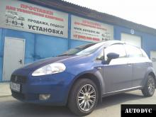 Fiat Punto III Grande Punto увеличение клиренса