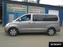 Hyundai Starex (H-1) II / Grand Starex  увеличение клиренса