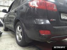 Hyundai Santa Fe CM увеличение клиренса