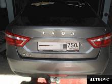 Lada Vesta увеличение клиренса