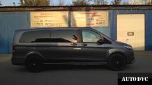 Установка проставок для увеличения клиренса Mercedes-Benz V-klasse.