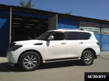 Nissan Patrol VI (Y62) увеличение клиренса