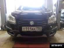 Suzuki SX4 II увеличение клиренса