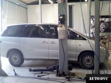 Toyota Estima II увеличение клиренса